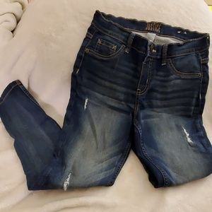 Girls Justice distressed jeans